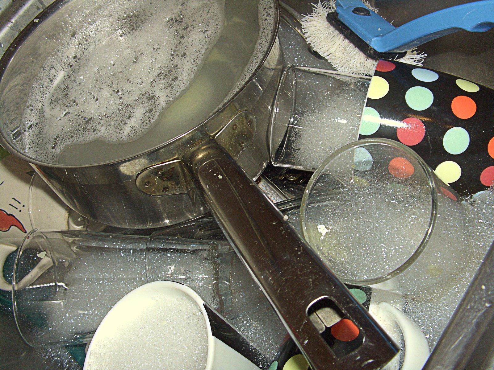 Opvask uden opvaskemaskine installeret
